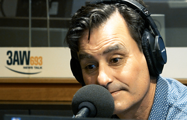 Article image for How listening to Tony Tardio read the news may have saved Mark Allen's life