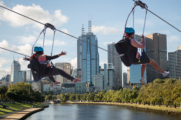 Article image for The high-flying proposal to get visitors back in Melbourne's CBD