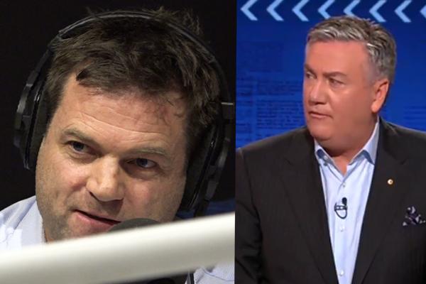 Mick Warner responds to Eddie McGuire's 'liar' barb on Footy Classified