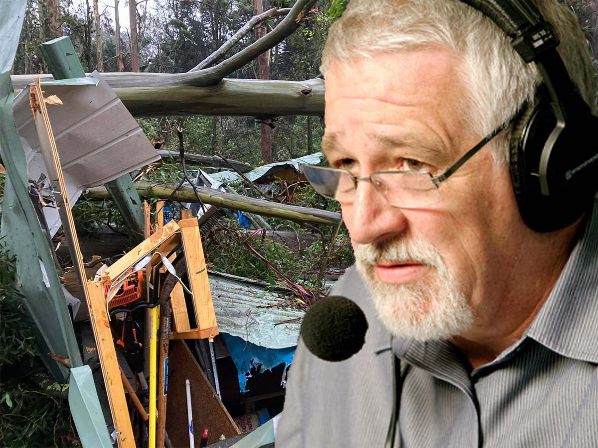 Article image for 'Send the planes here!': What Neil Mitchell says must happen in Victoria's storm-hit 'crisis' zone