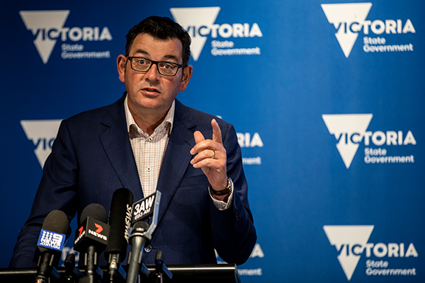 Article image for Tom Elliott admits he wasn't convinced Daniel Andrews would return as Premier