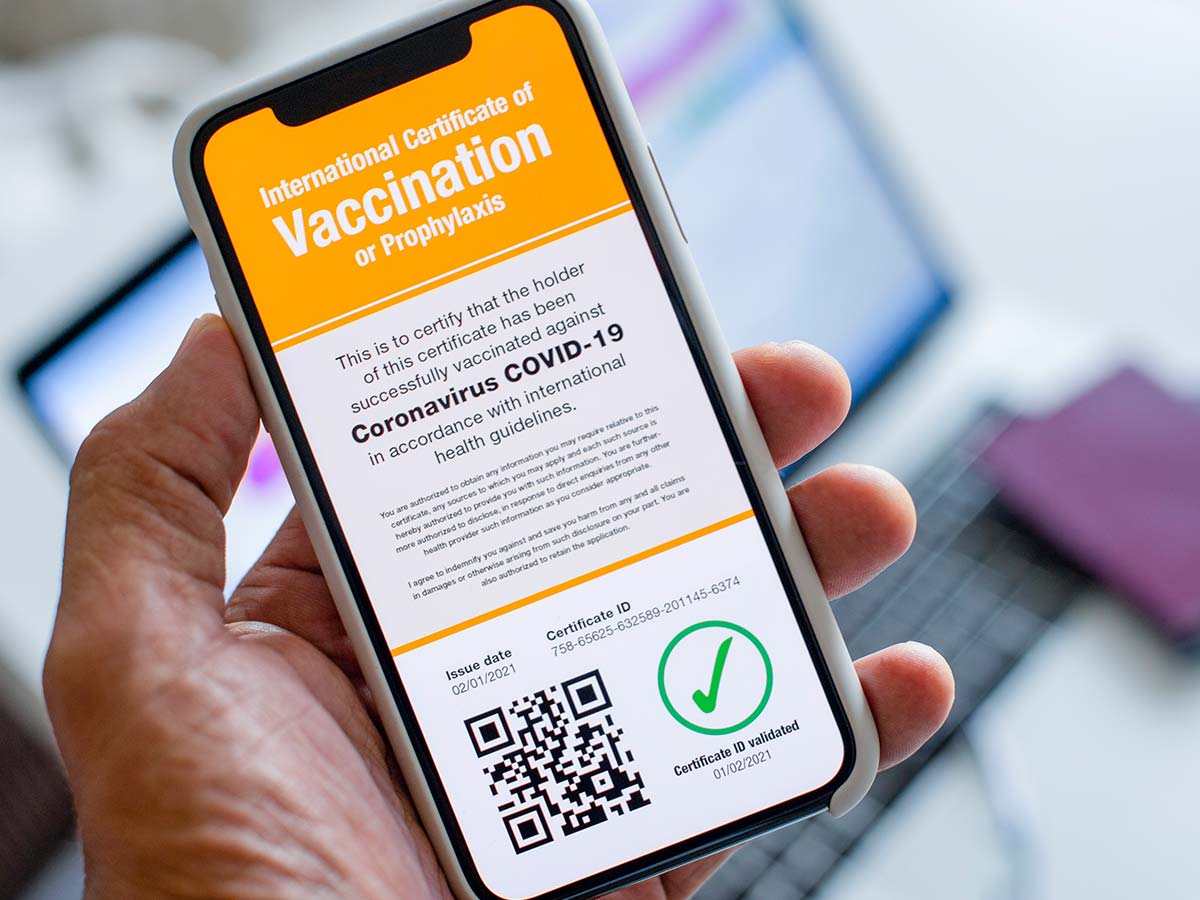 Article image for WHO vaccine uptake adviser shares warning about vaccination passports