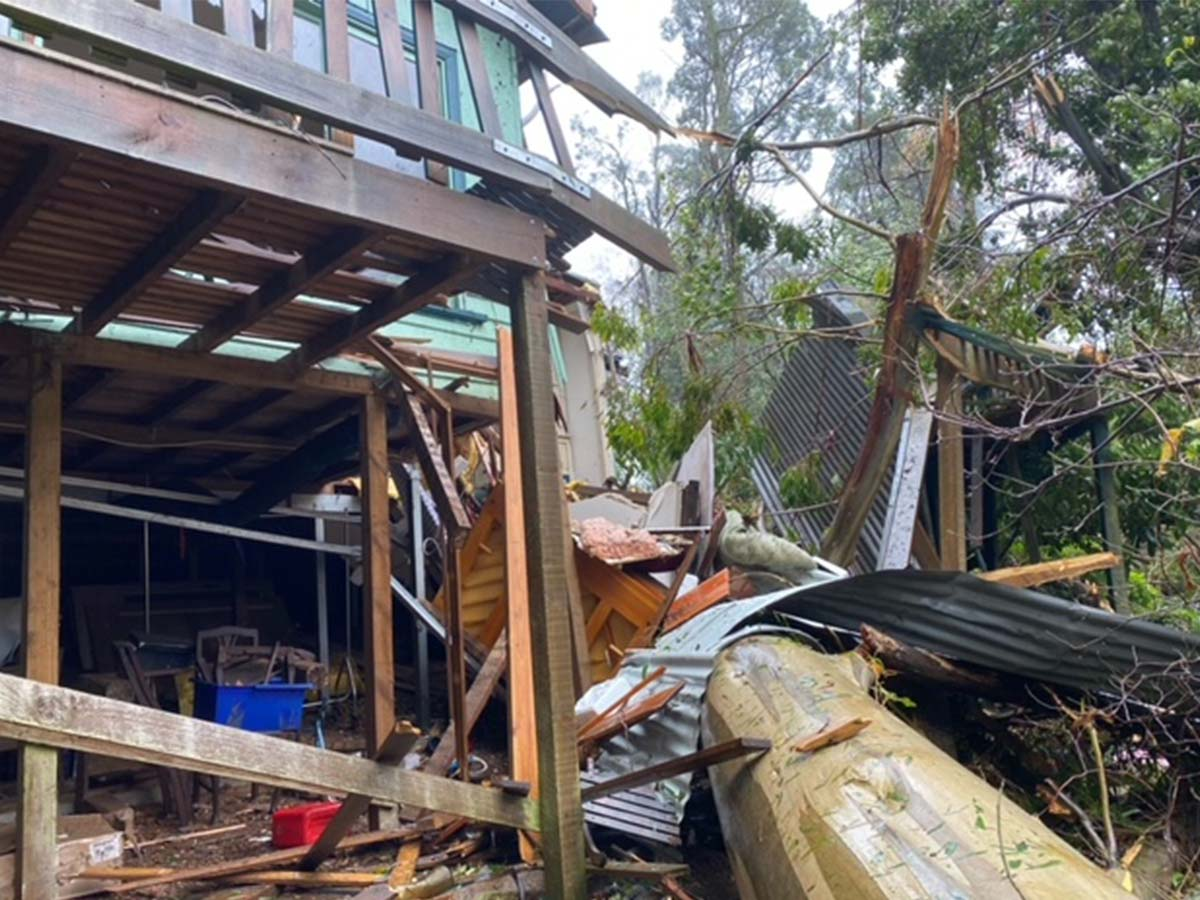 Article image for PHOTOS: Wild weather wreaks havoc across Victoria