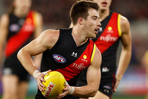 Article image for 'There was a lot going on': Essendon ace on what led to lengthy contract extension