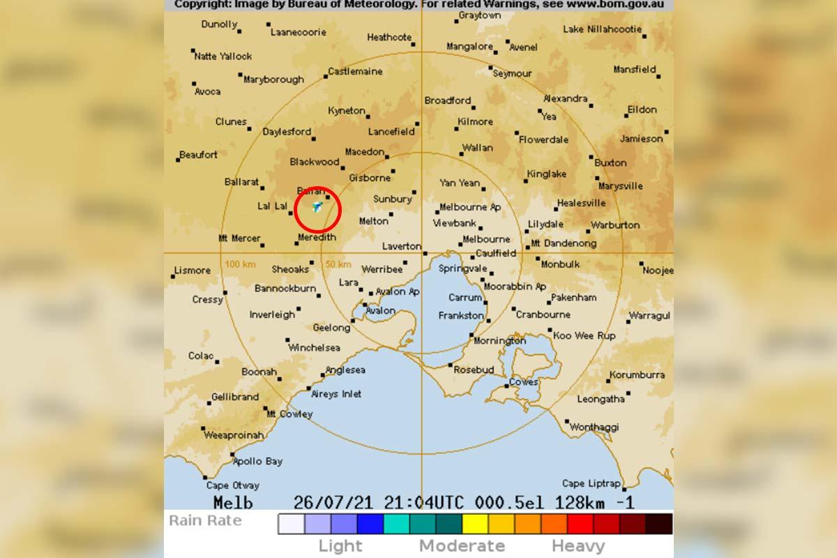 Article image for Mystery solved! Jane Bunn explains why the BOM radar says it's always raining near Ballan
