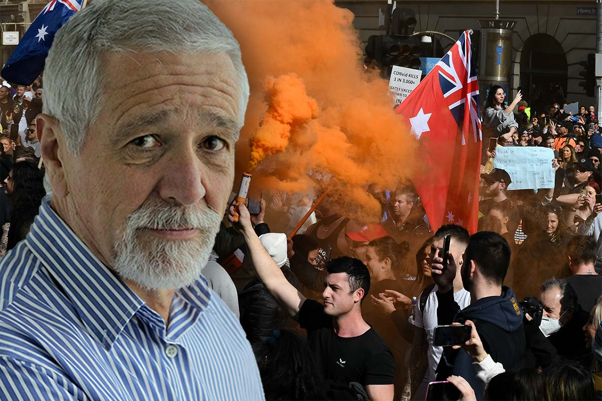 How Neil Mitchell thinks 'frustrated' anti-lockdown protesters should be dealt with
