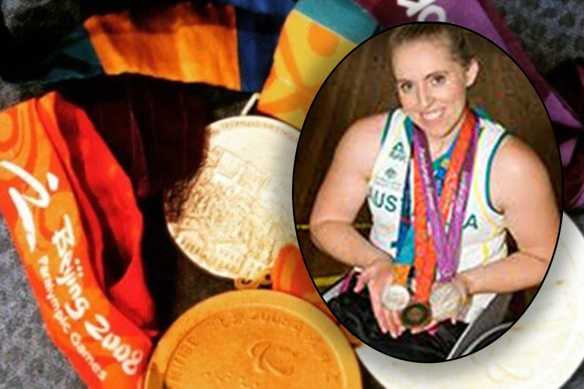Article image for Paralympian devastated after medals snatched on eve of the Olympics
