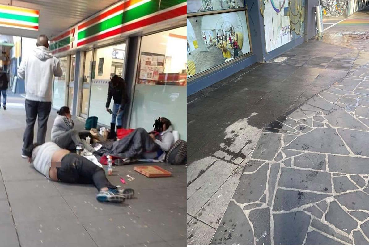 Article image for 'Disgraceful hypocrisy': St Kilda homeless camp dismantled ahead of LGBTIQ hub opening
