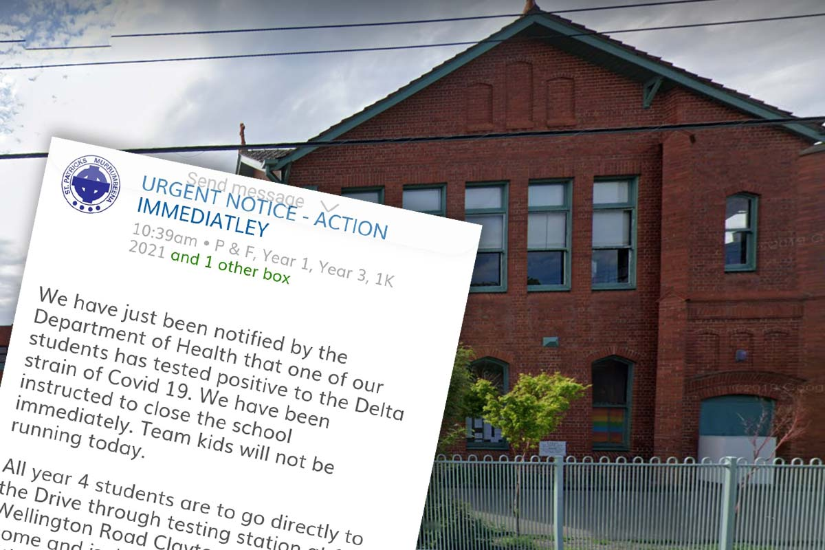 School in Melbourne's south-east closed after student tests positive to COVID-19