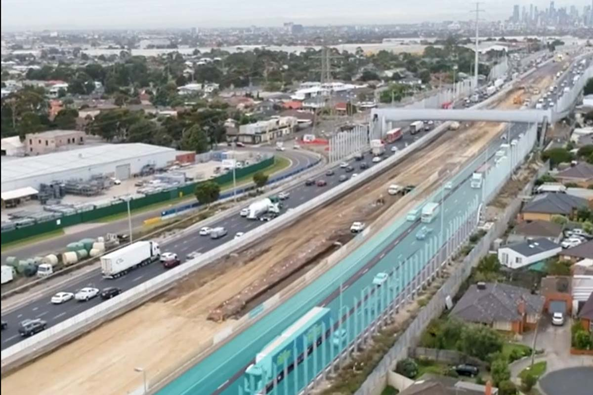 Article image for Big changes are coming to the West Gate Freeway from tomorrow
