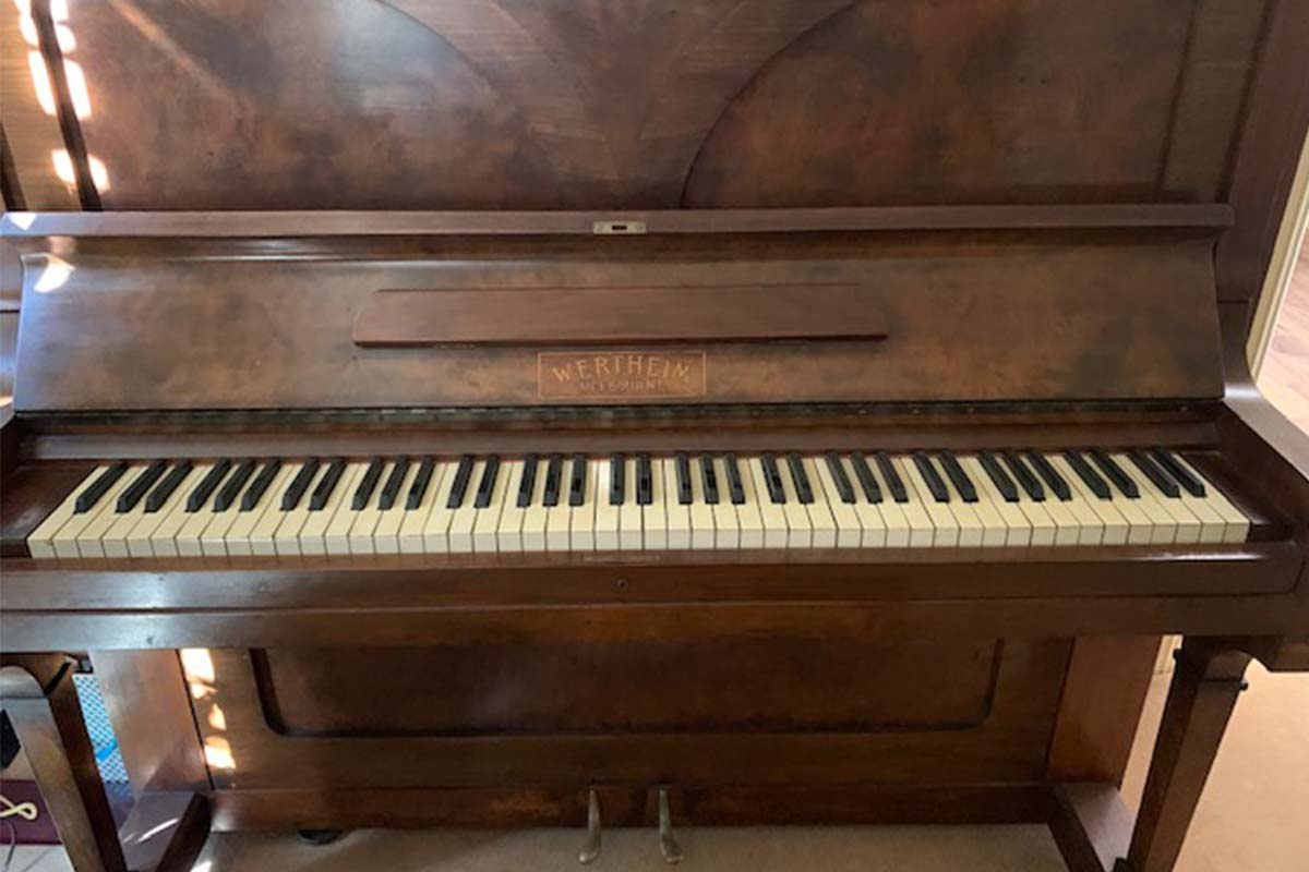 Article image for A generous listener is giving away a 100-year-old piano for free