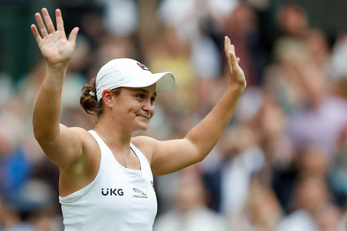 Article image for What motivates Ash Barty and makes her tick