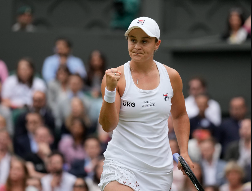Ash Barty becomes Australia's first female Wimbledon champion in four decades