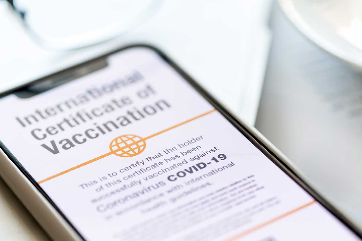 Article image for The multi-million dollar plan for QR code vaccination certificates for travel