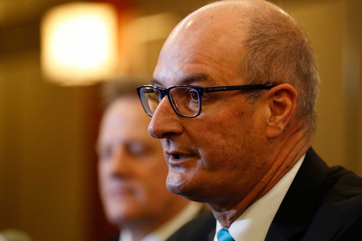 David Koch shares his thoughts on COVID-19 vaccination being a requirement to attend AFL games