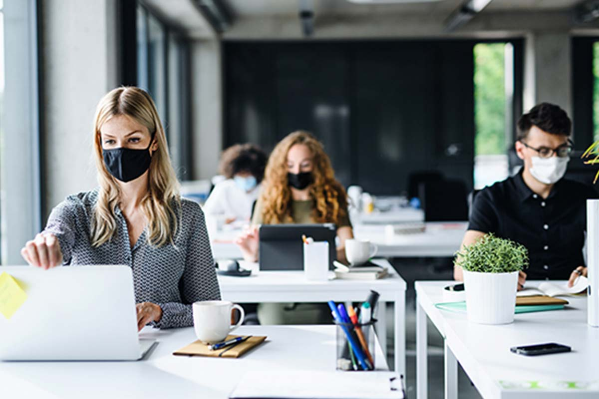 Calls for office mask rules to be changed, once workers are allowed back