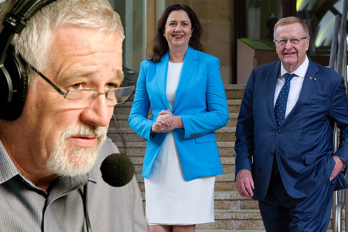 Article image for What Neil Mitchell thought of the AOC boss ordering Palaszczuk to attend opening ceremony