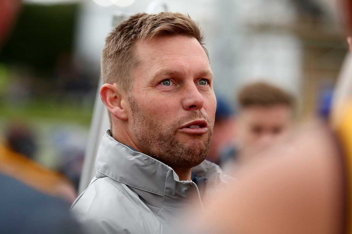 Article image for LATEST: Sam Mitchell withdraws from Collingwood coaching race