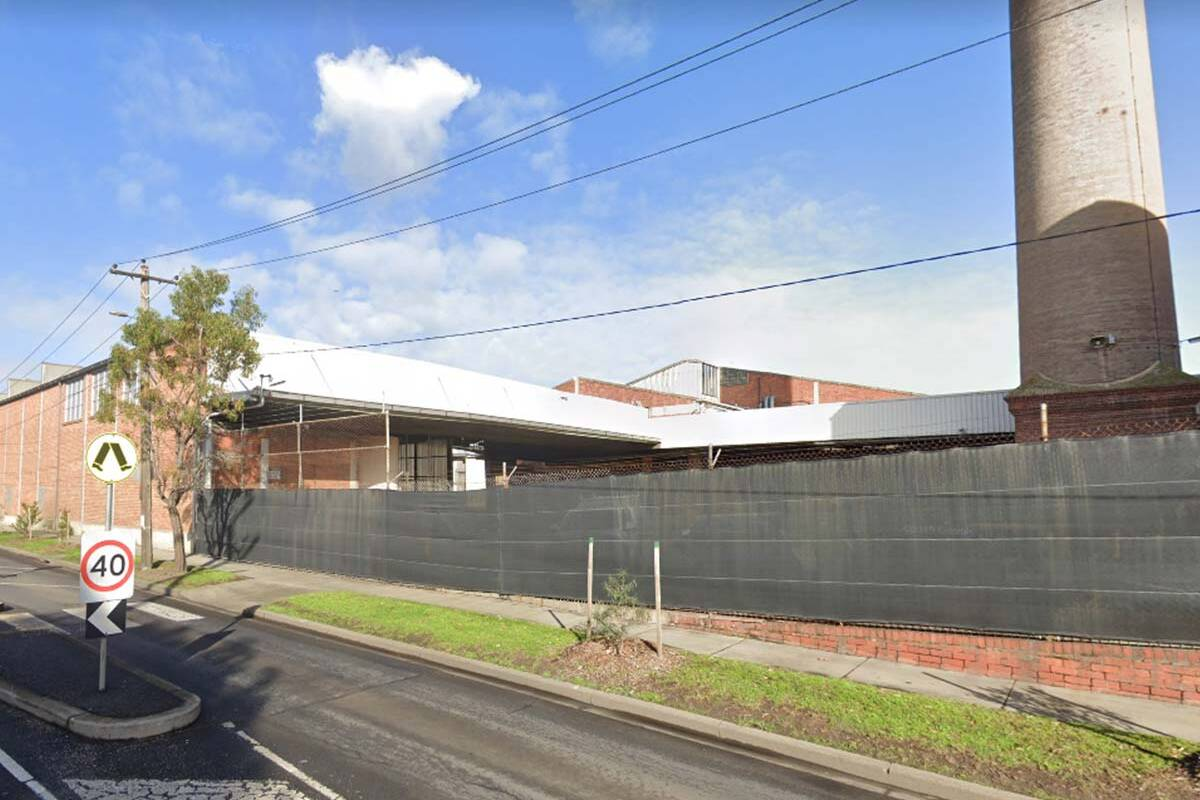 Port Melbourne Bega factory