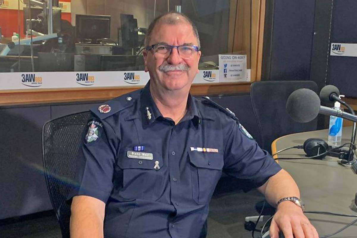 Article image for Top roads cop opens up about the horror memory that motivates him to slash the road toll