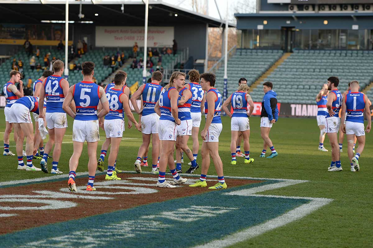 Article image for Matthew Lloyd and Gerard Healy address the Western Bulldogs' worrying form