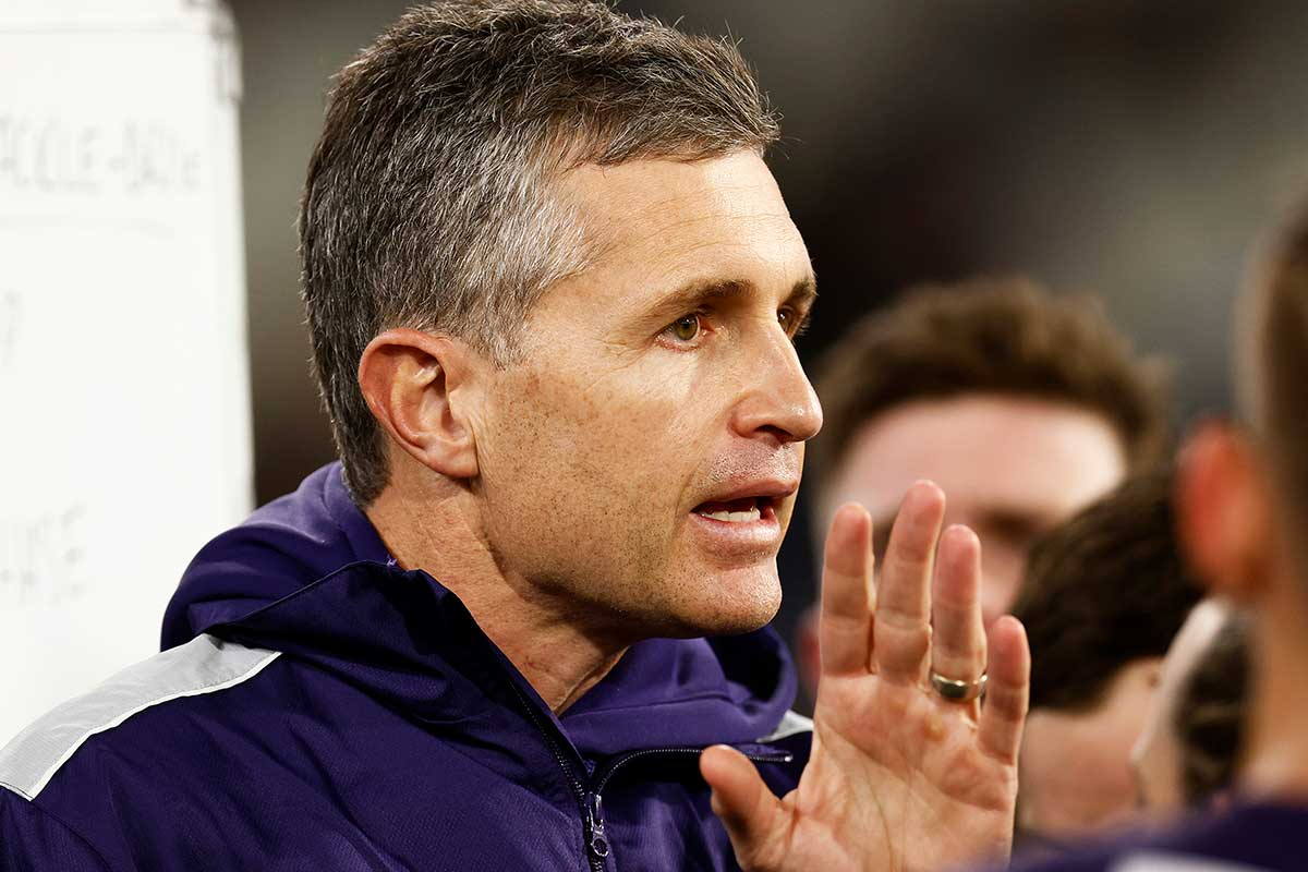 Justin Longmuir and the trap Fremantle tried to avoid during the trade period