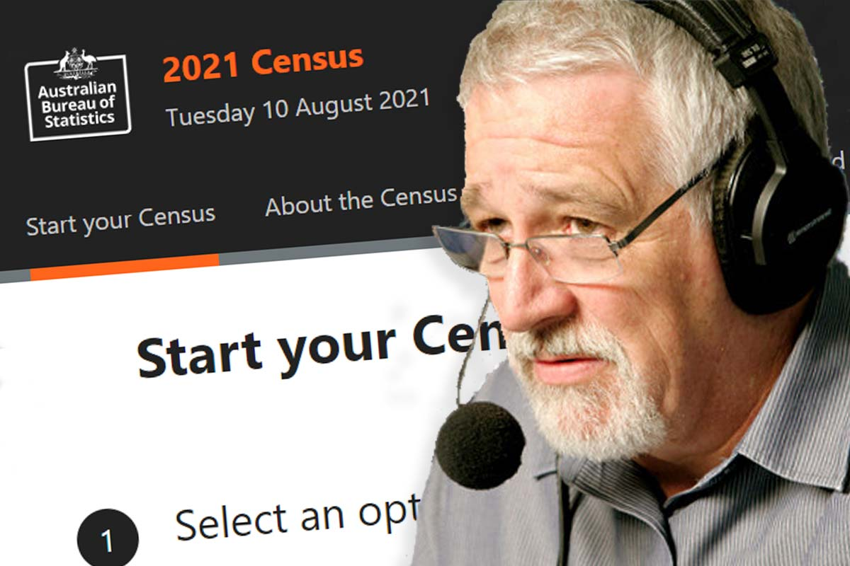 Article image for The Census question Neil Mitchell isn't sure everyone will be willing to answer