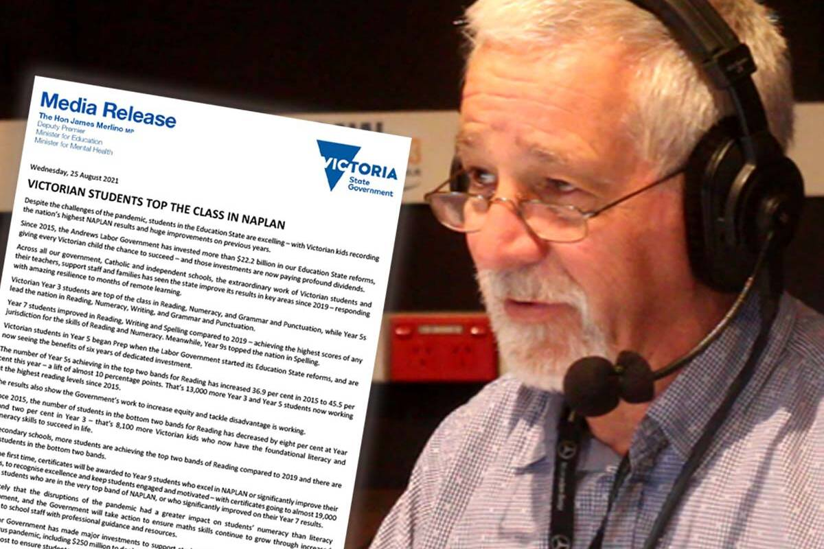Article image for Neil Mitchell slams 'offensive' statement from Victoria's Education Minister