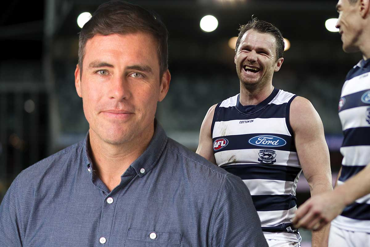 Article image for Why Matthew Richardson 'could not agree more' with Patrick Dangerfield