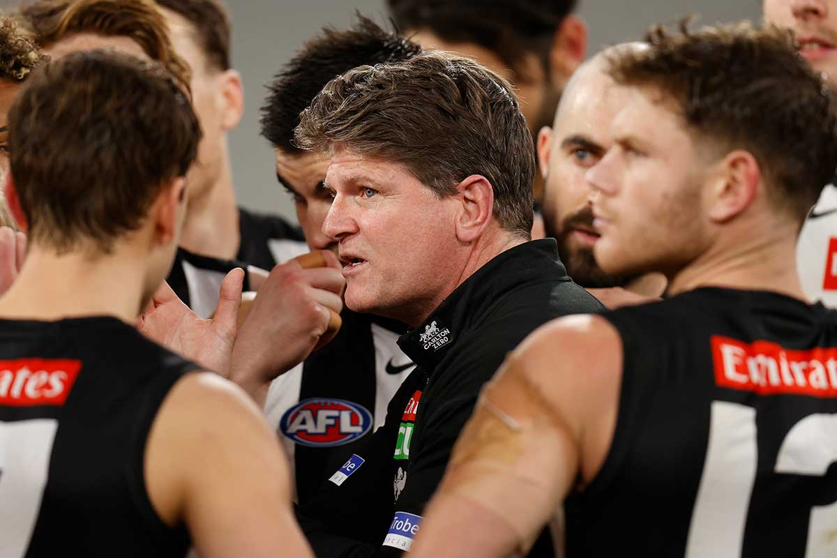 Article image for Robert Harvey with the latest on his future at Collingwood