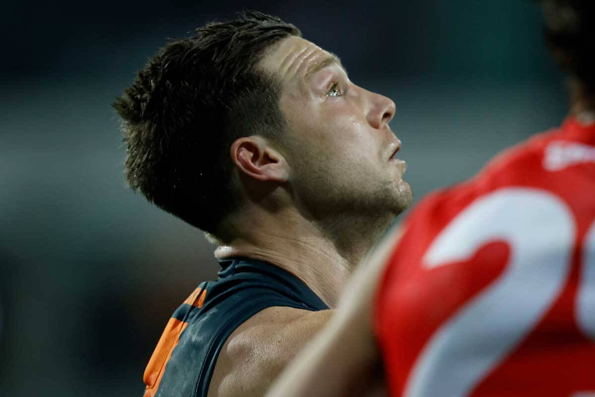 Article image for Gerard Healy, Matthew Lloyd and Sam McClure address and assess Toby Greene's umpire clash