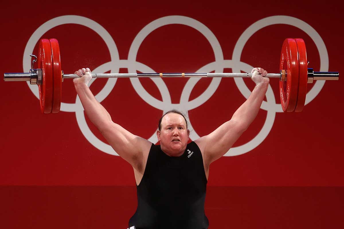 Article image for Transgender woman and retired athlete responds to historic Olympic moment