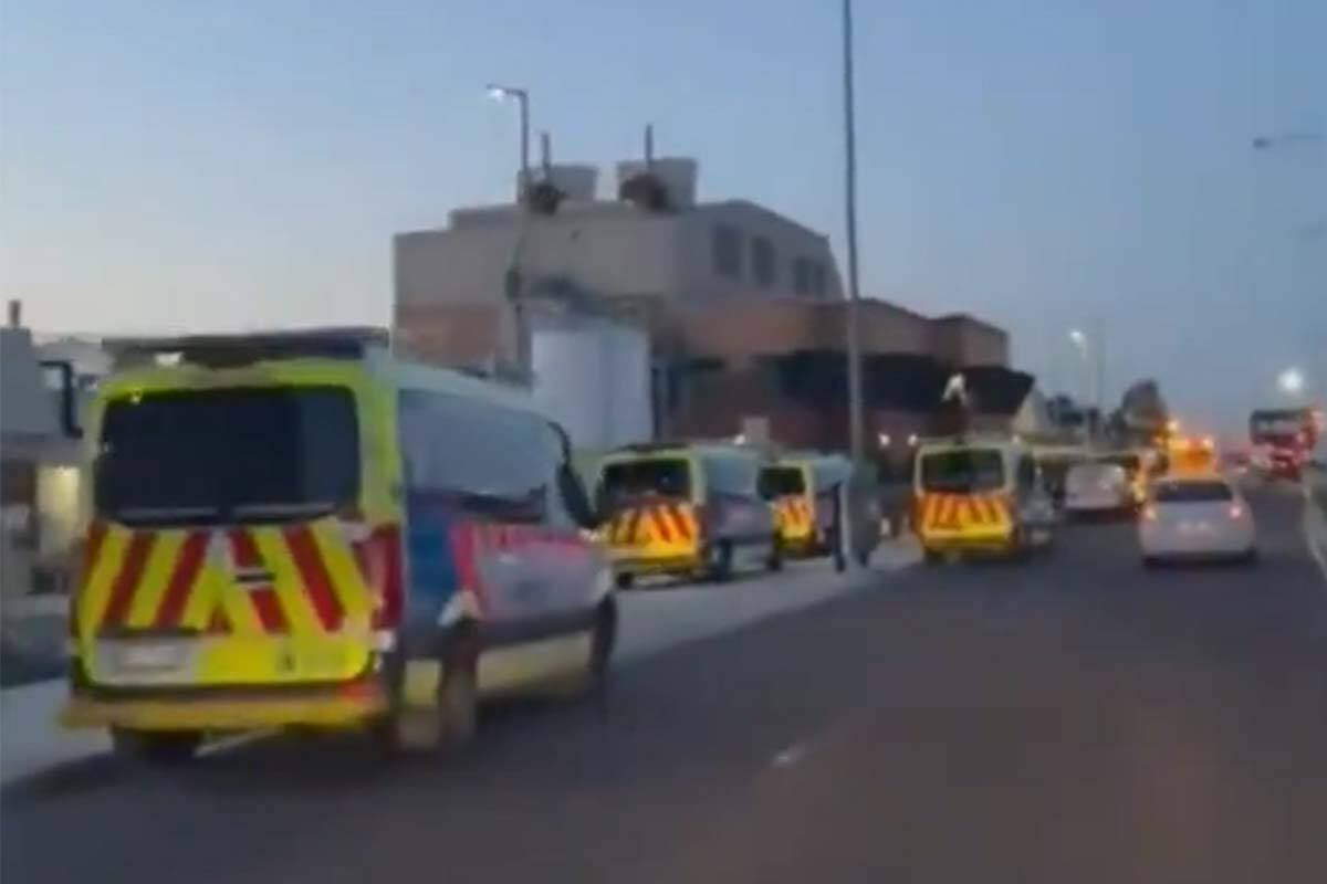 Article image for More ambulance ramping outside Northern Hospital as health system strains