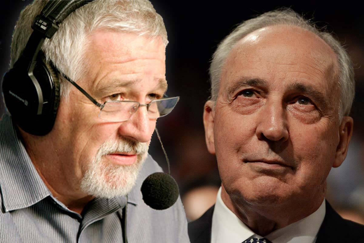 Neil Mitchell and Paul Keating