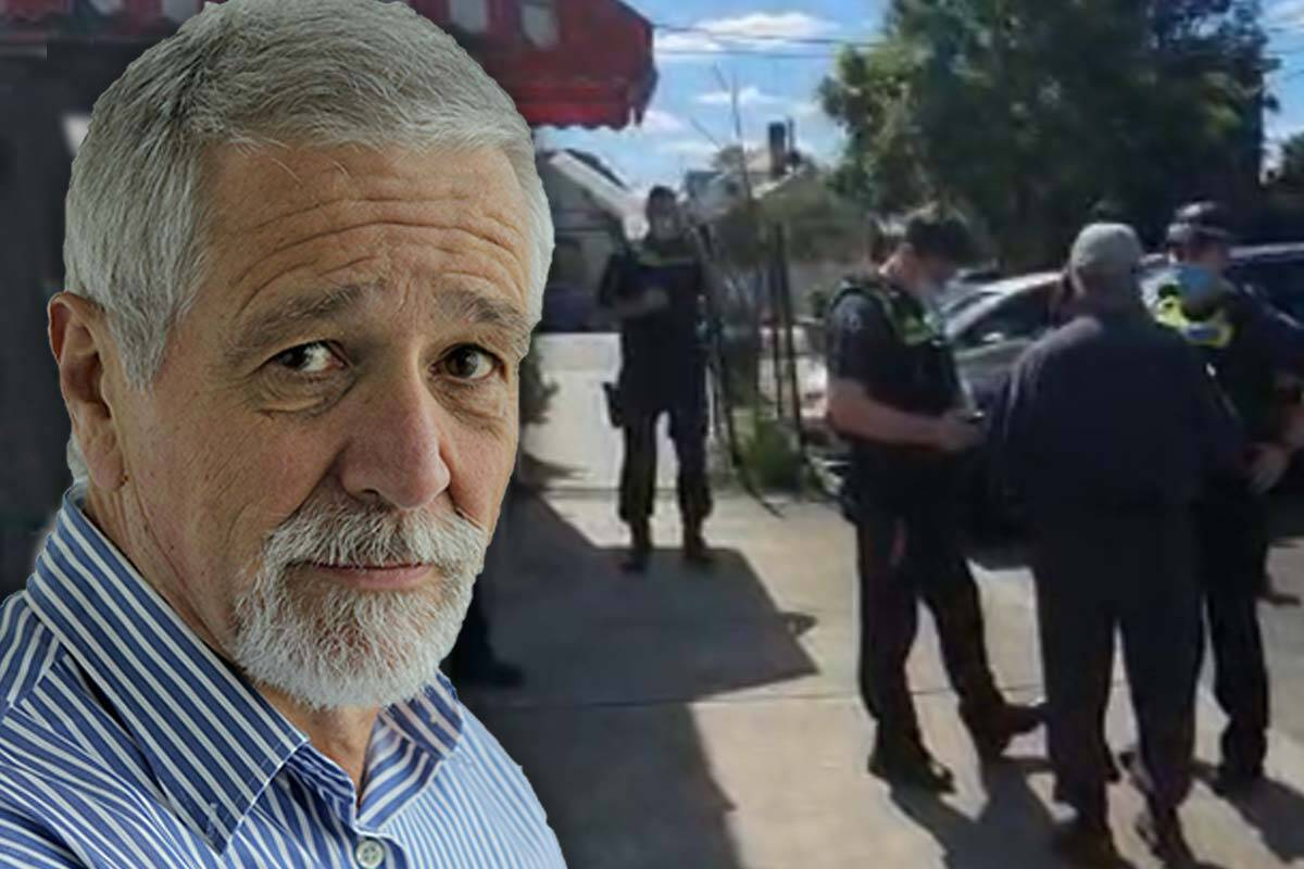 Article image for Neil Mitchell asks whether police are going 'too far' to enforce COVID-19 rules