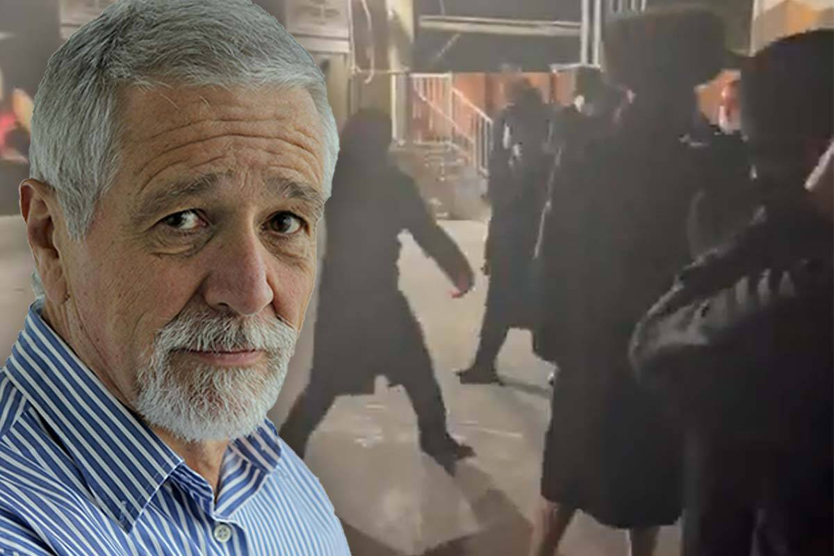 Article image for Neil Mitchell slams 'selfish lot of violent thugs' at Elsternwick synagogue stand-off