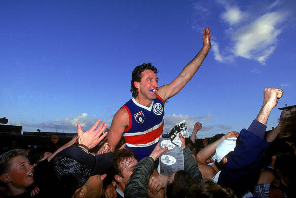 Article image for 'He reminds me of me': Doug Hawkins' man-crush at the Bulldogs