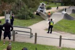 Police called, concrete barriers installed, to stop kids using suburban BMX park