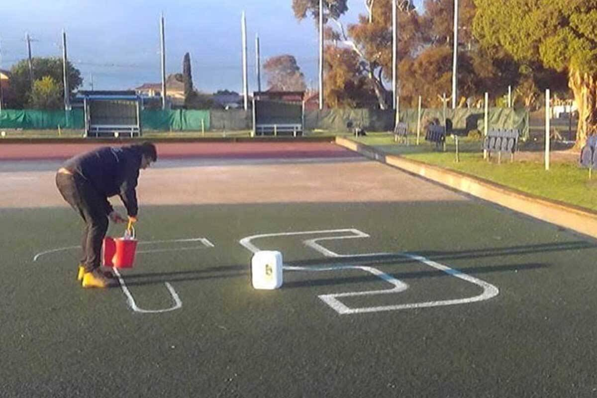 Article image for Bowling green in Bulldogs' heartland gets a grand final facelift!