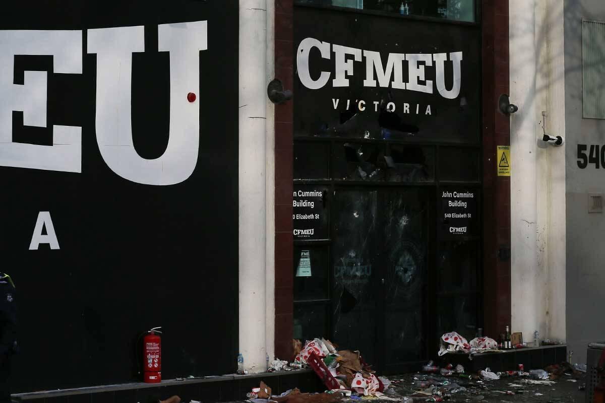 Article image for CFMEU headquarters declared Tier 1 COVID-19 exposure site
