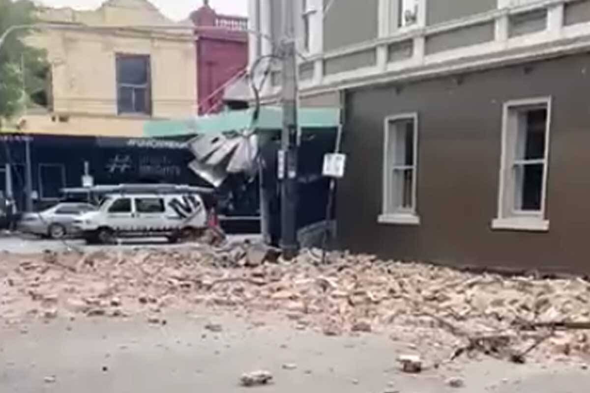 Article image for LATEST: Earthquake shakes Melbourne and most of Victoria