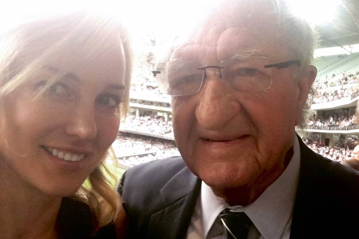 Article image for Elise Elliott's touching tribute to her father-in-law, John