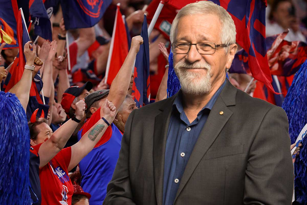 Neil Mitchell's reaction to Melbourne's drought-breaking premiership