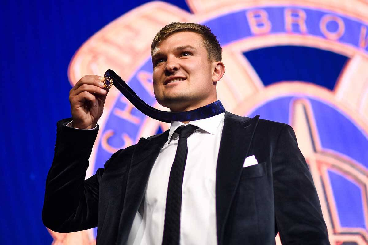 Article image for Ollie Wines and the Brownlow reaction he 'almost shed a tear' over