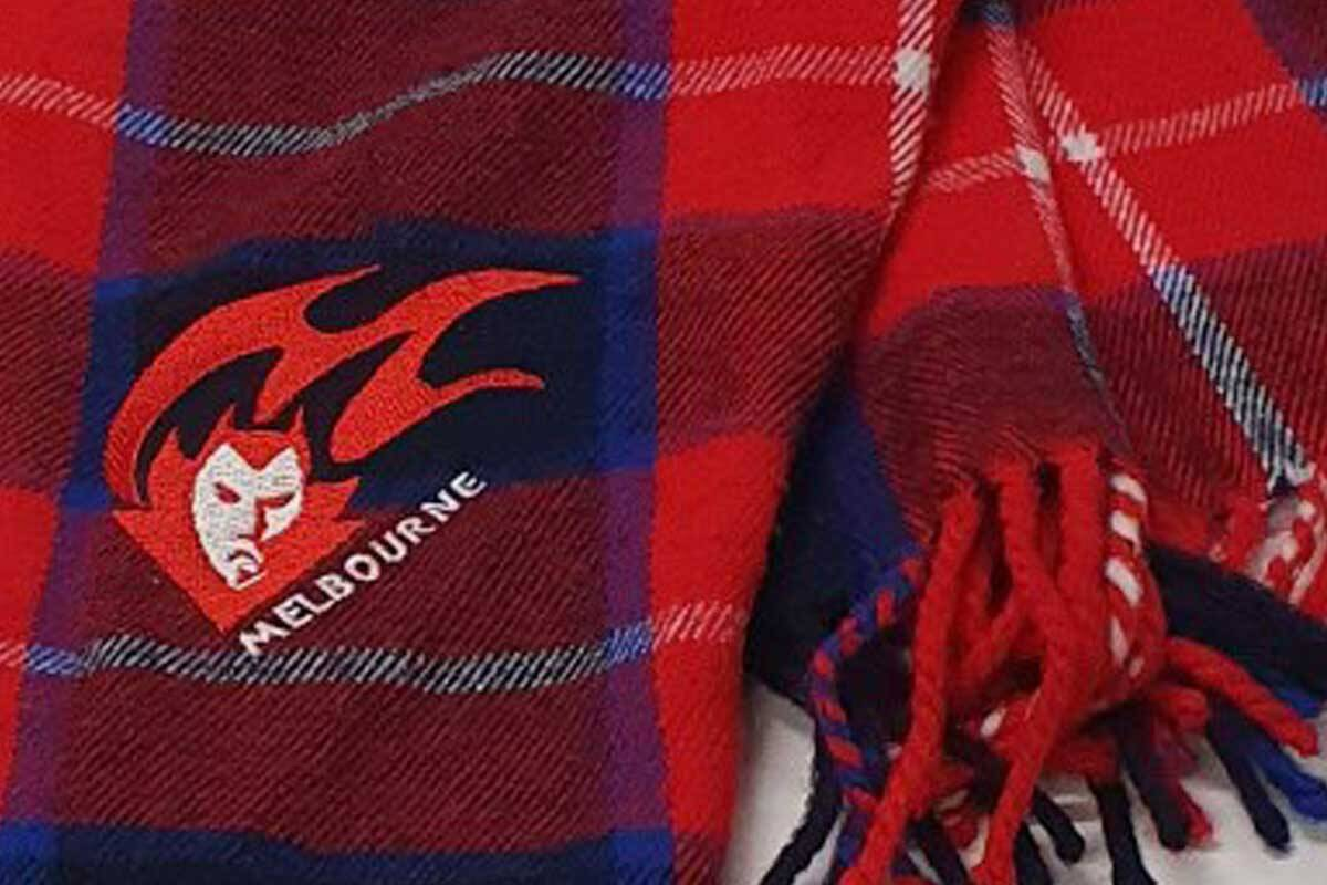Article image for How Nick McCallum's Demon scarf ended up in Perth!