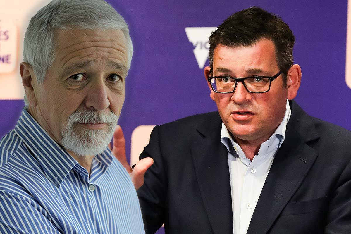 Article image for 'Don't dud us, Dan': Neil Mitchell's message to the Premier as vaccine threshold nears