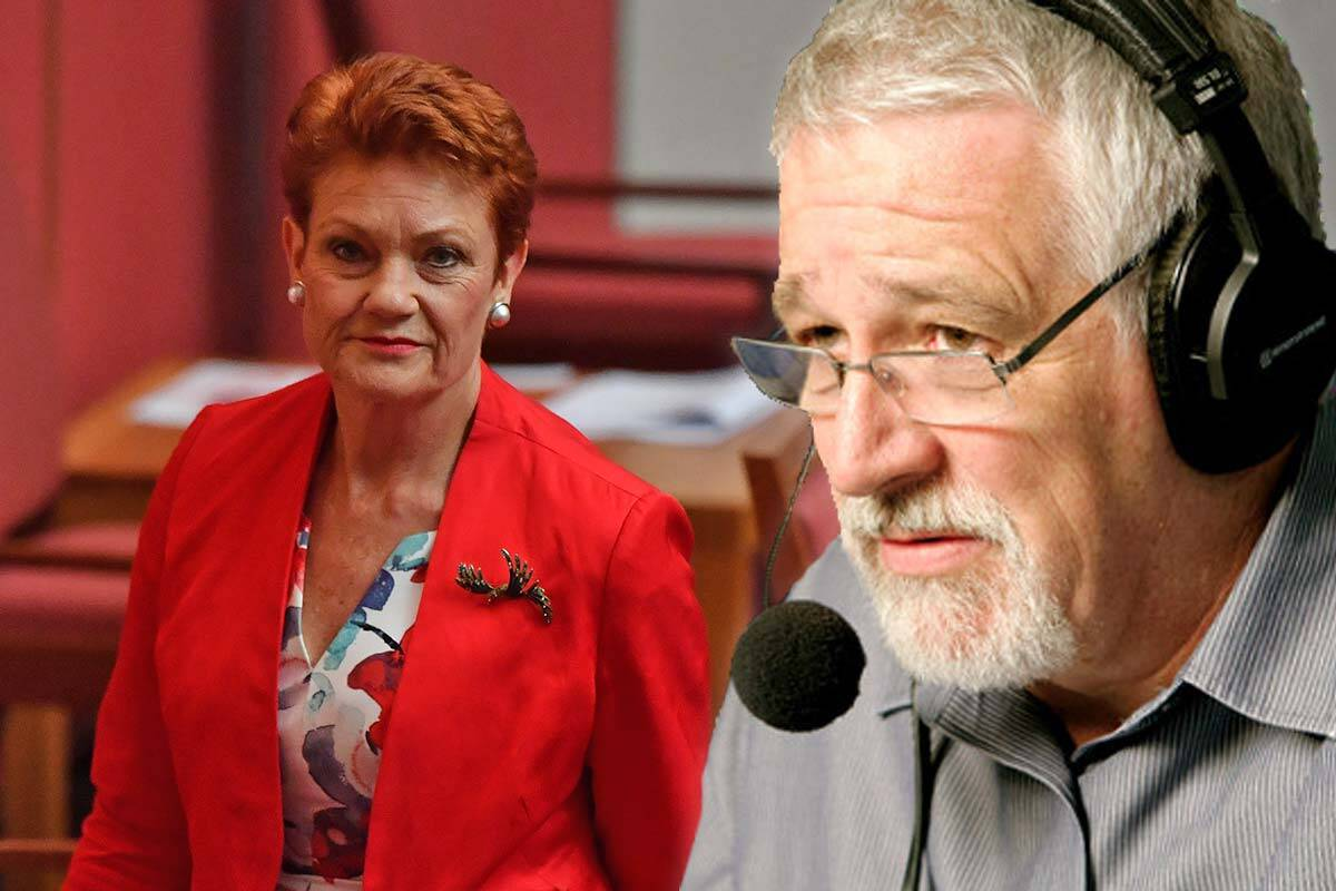 Article image for 'Political bullying and thuggery': Neil Mitchell's view on Pauline Hanson podcast backlash