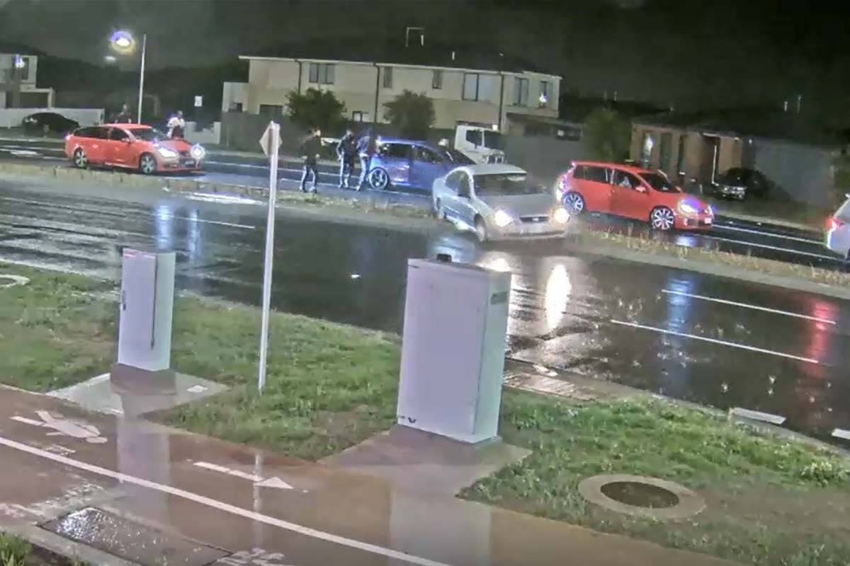 Article image for CCTV footage reveals violent altercation just moments before crash that killed four teens