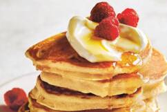 Dining with Den – Complete Breakfast Pancakes from Donna Hay