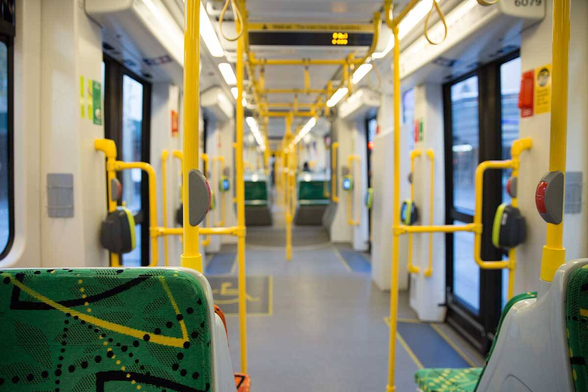 Article image for Four tram routes face Friday disruption due to positive COVID-19 case